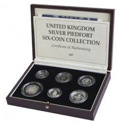United Kindgom 6 Coin Silver Piedfort Collection for sale